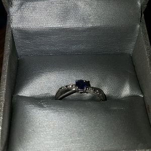 Jewelry - Womens Size 7.75 sapphire ring